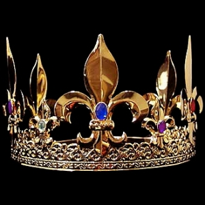 THE BALL'S Official King Crown